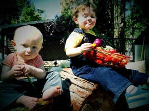 gardening, idyllwild, kids, outdoors, lifestyle